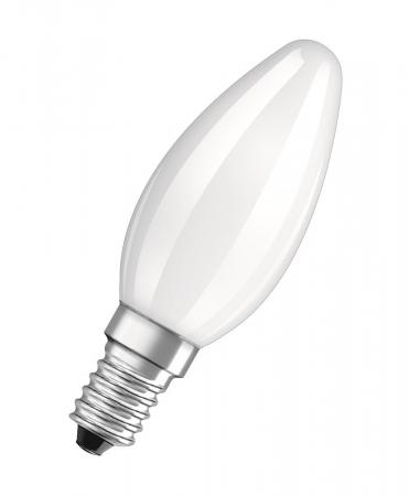 4W = 40W 2700K 360° ND OSRAM LED RETROFIT B40 E14 Kerzenlampe Matt