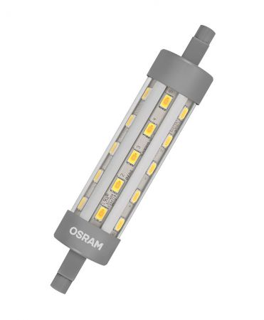 9W = 75W 2700K 300° ND Osram LED Star Line R7s 118mm