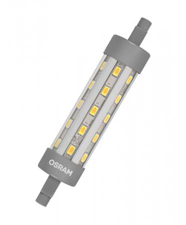 6.5W = 60W 2700K 300° ND Osram LED Star Line R7s 118mm