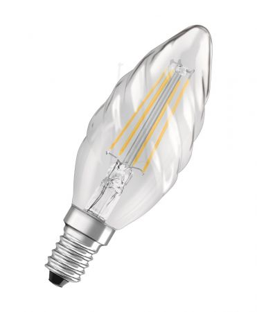 4W = 40W 2700K 300° ND OSRAM LED RETROFIT Filament BW40 KLAR