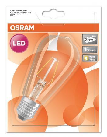 2w 25w 2700k 360 nd osram led retrofit globe25 klar led lampen osram bioledex toshiba. Black Bedroom Furniture Sets. Home Design Ideas
