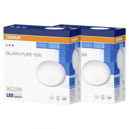 Osram SILARA PURE LED Leuchte 10W 250mm 3000K 2er Box