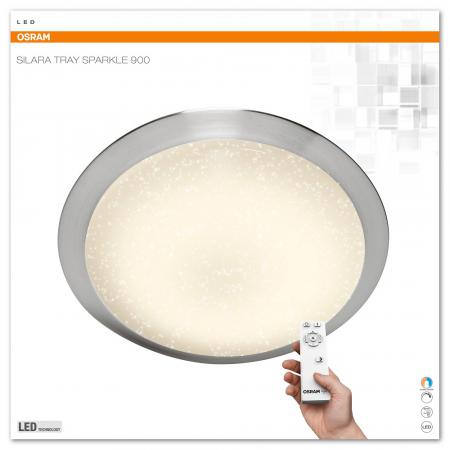 Osram SILARA TRAY SPARKLE LED Leuchte 85W 900mm 2700K - 6500K