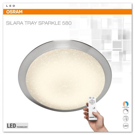 Osram SILARA TRAY SPARKLE LED Leuchte 35W 580mm 2700K - 6500K