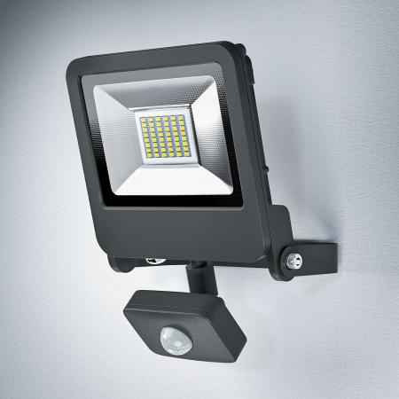 Osram LED Endura Floodlight 30W LED Strahler Grau Sensor 3000K