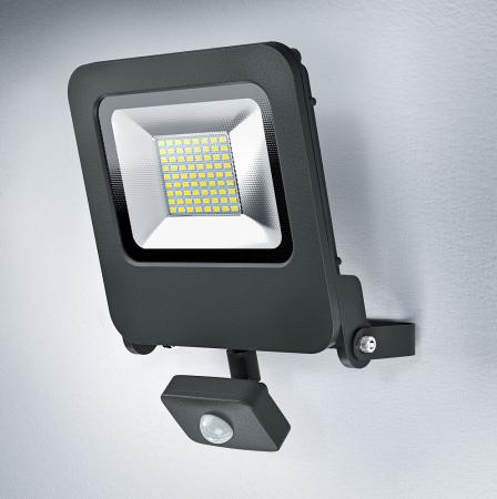 Osram LED Endura Floodlight 50W LED Strahler grau Sensor 3000K