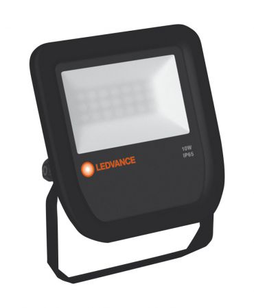 LEDVANCE FLOODLIGHT 10 W 3000 K IP65 BK