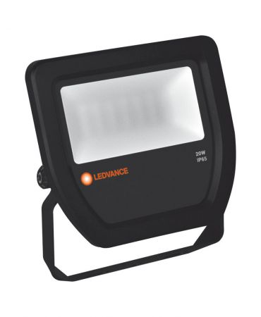 LEDVANCE FLOODLIGHT 20 W 3000 K IP65 BK