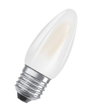 2.5W = 25W 2700K 360° ND OSRAM LED STAR Classic B25 Filament MATT