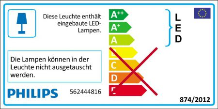 PHILIPS STAR 56244/48/16 4er LED Deckenspot 4x4W 920lm grau