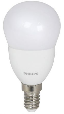 5.5W = 40W 2700K ND Philips COREPRO LEluster 5.5-40W E14 827 P48 FR