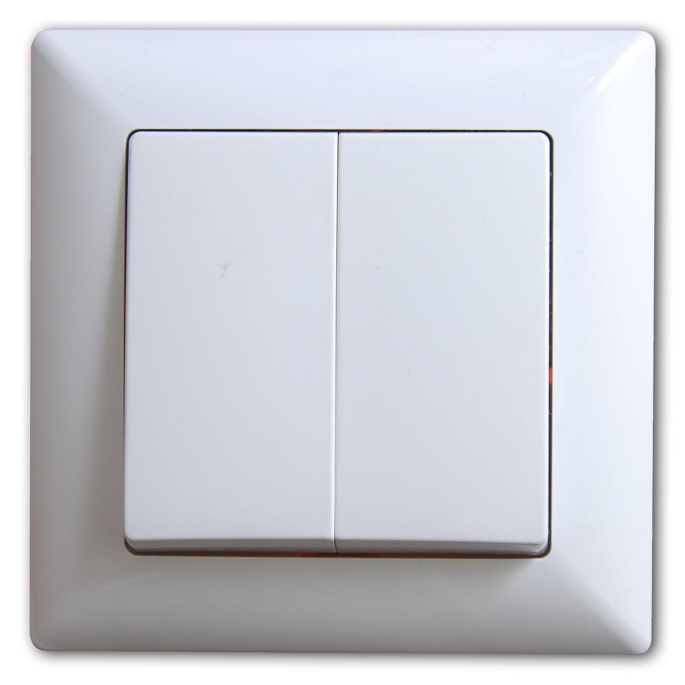Visage 2-fach Schalter Wechselschalter - LED-Lampen Osram Bioledex ...