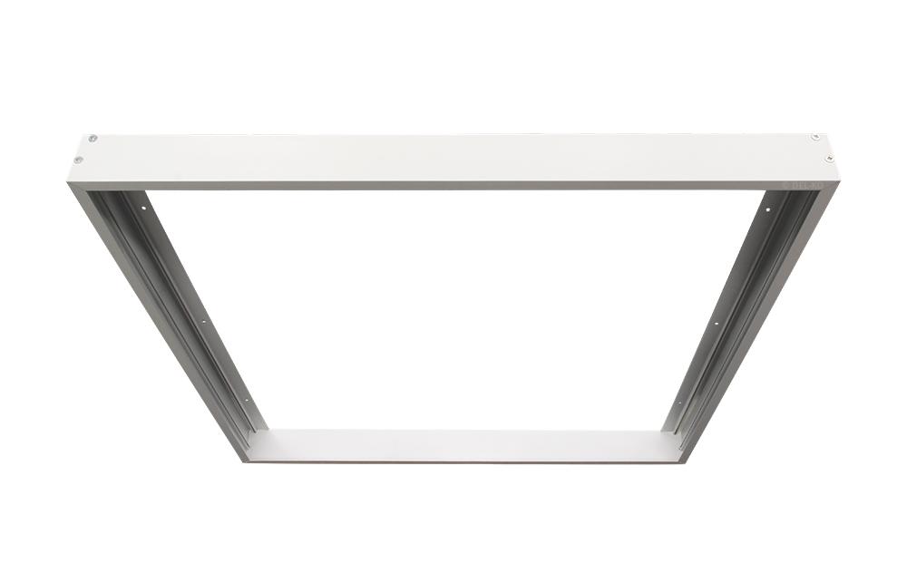 Led Lampen Panel : Bioledex aufbaurahmen für led panels mm weiss led lampen